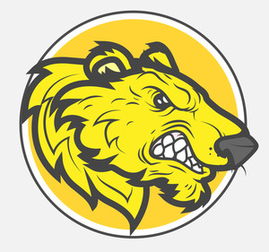 300x281 Vector Lion Mascot Royalty Free Stock Image