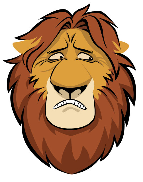 502x637 Cowardly Lion Face By Teedizzle