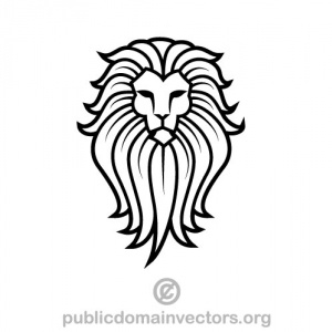 300x300 Lion Face Clipart Simple