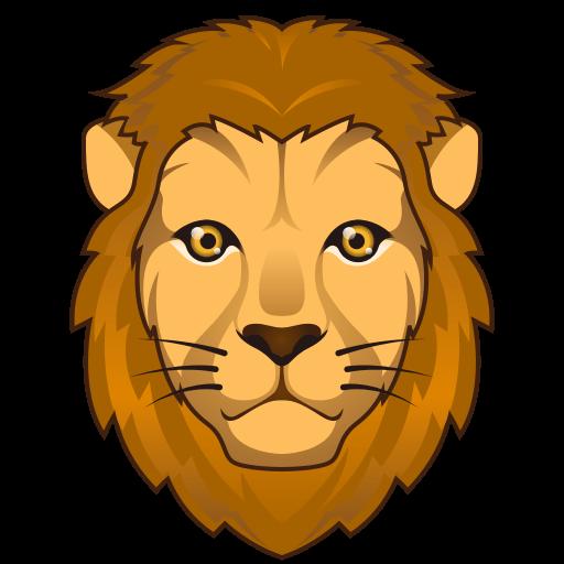 512x512 Lion Face Emoji For Facebook, Email Amp Sms Id  12403 Emoji.co.uk