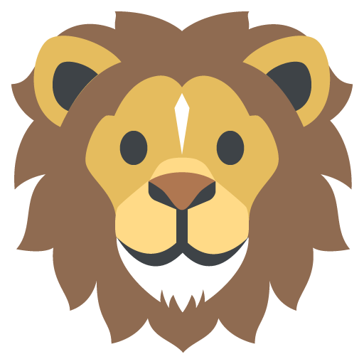 512x512 Lion Face Emoji For Facebook, Email Amp Sms Id  1461 Emoji.co.uk