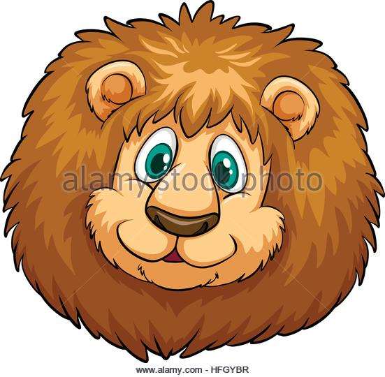 551x540 Lion Head Happy Face Illustration Stock Photos Amp Lion Head Happy
