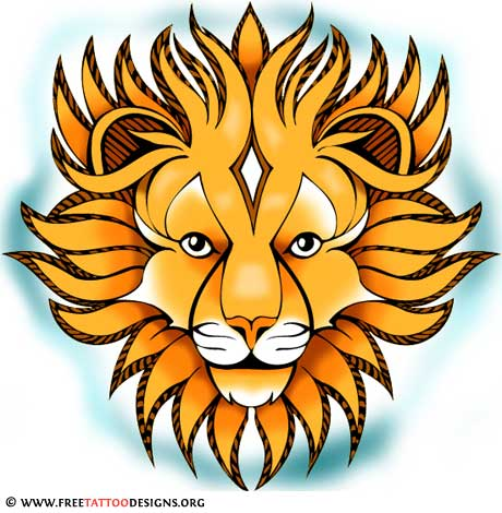 460x470 Lion Tattoos Leo, Head, Lion Of Judah And Tribal Lion Tattoo Art