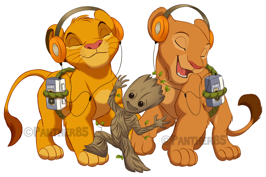 900x600 The Lion Guard Ians Of The Galaxy By Panther85