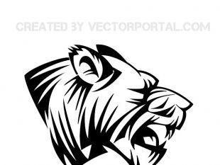 310x233 Lion Head Clip Art 2 Free Vector Free Vectors Ui Download