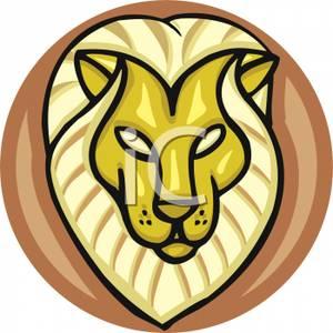 300x300 Art Image The Head Of Leo The Lion