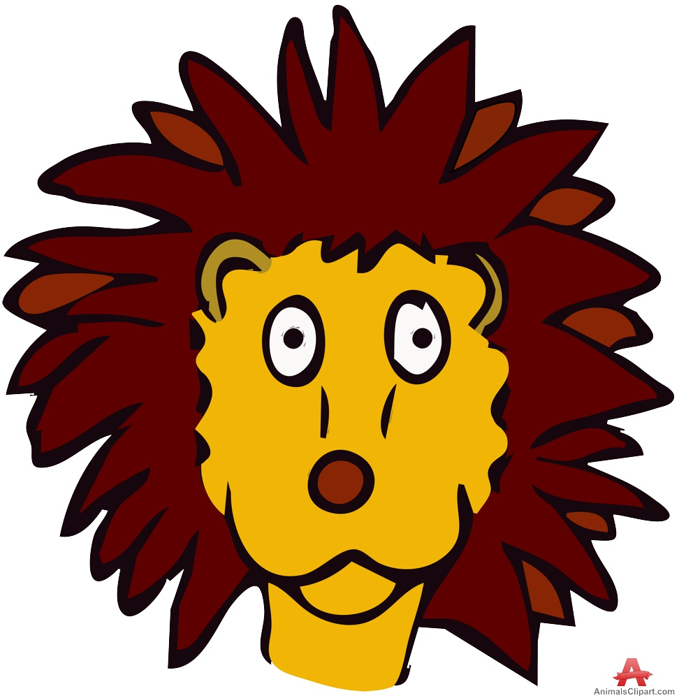 972x999 Funny Lion Head Clipart Design Free Clipart Design Download
