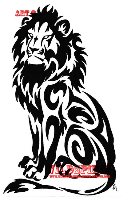 400x652 Graphics For Graphics And Clip Art Lion Tattoo