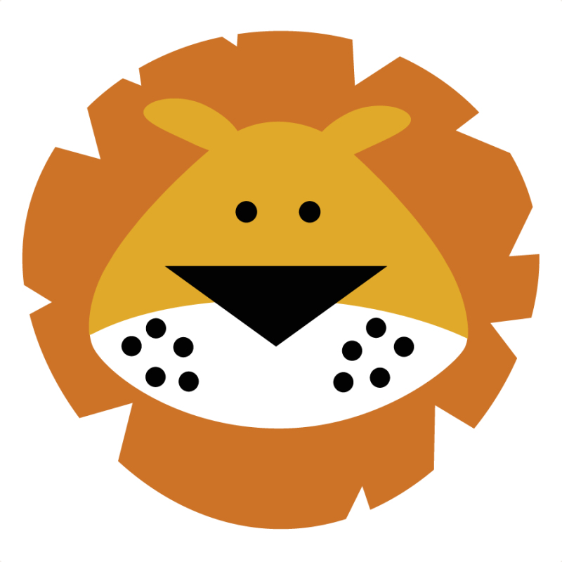 800x800 Head Clipart Baby Lion