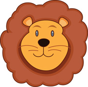 180x177 Lion Face Clipart