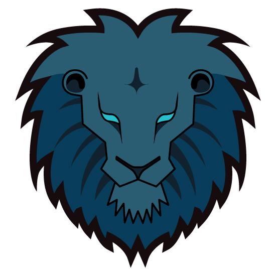 550x550 Lion Head Clipart