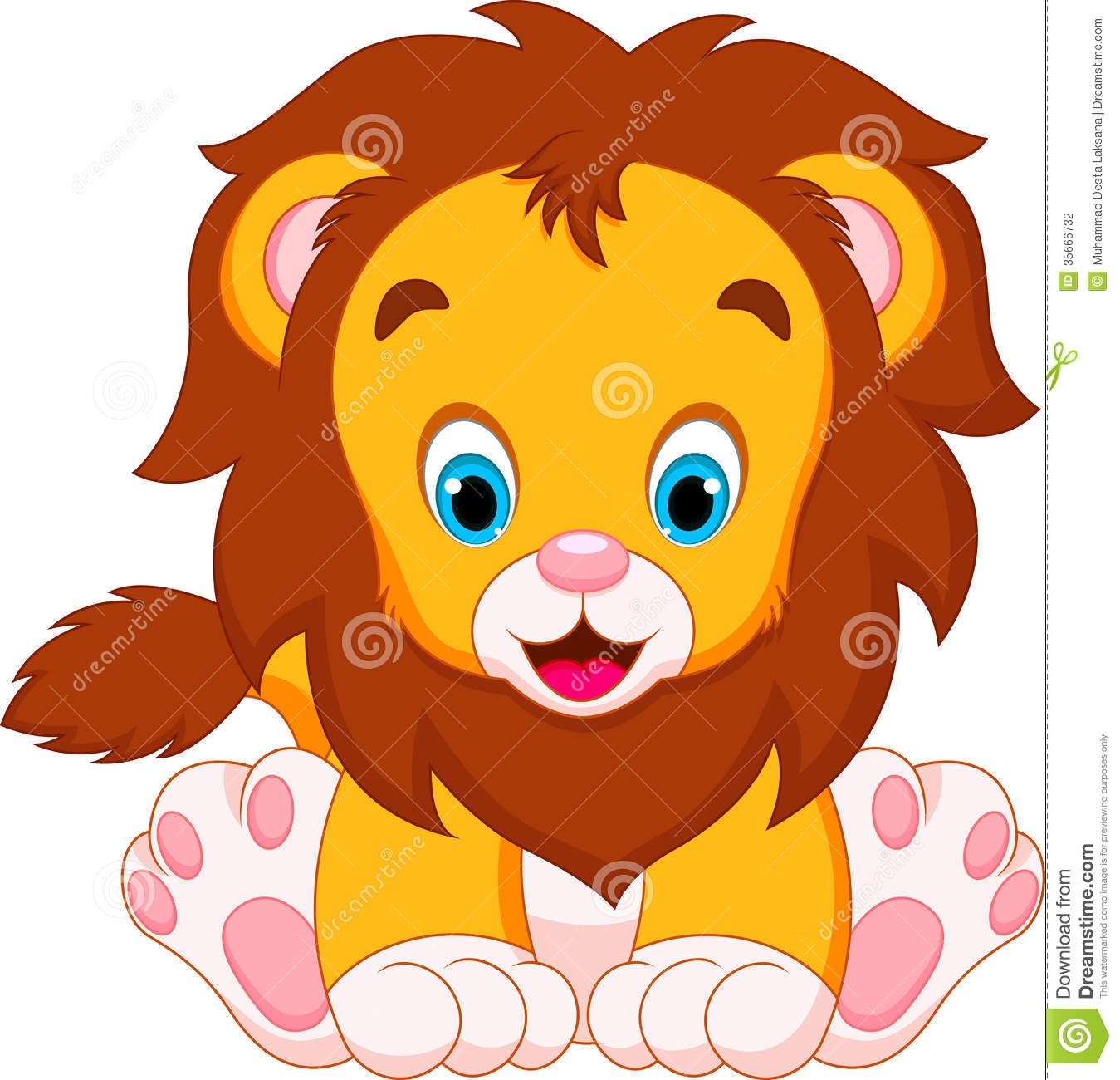 1349x1300 Lion Head Clipart For Kids