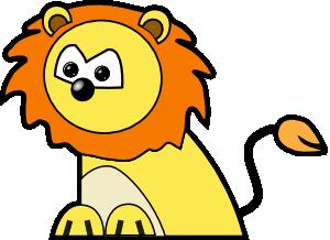 300x218 Lion Clip Art Free Vector 4vector