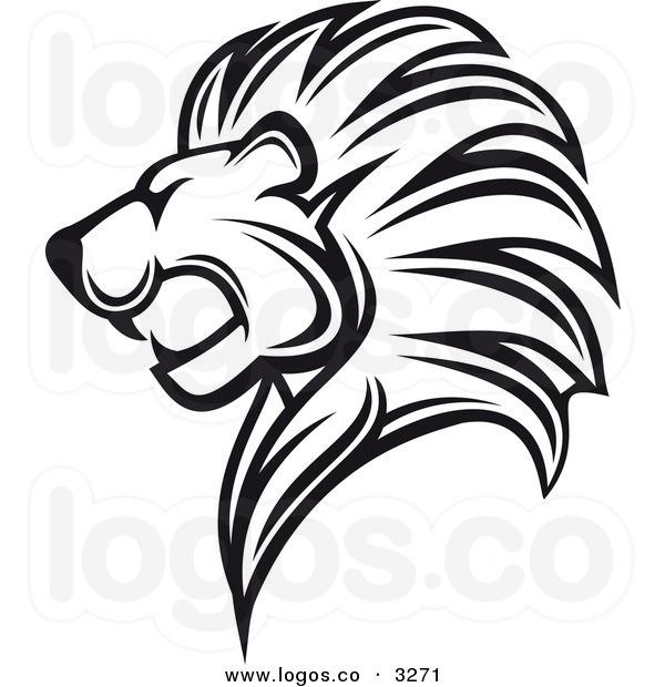 600x620 Free Lion Head Clipart
