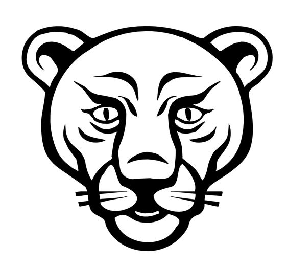 564x520 Lion Clipart Black And White