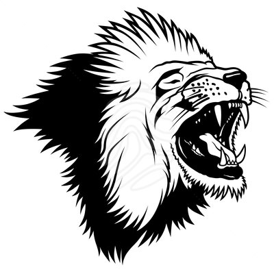 400x400 Lion Head Clip Art Clipart Panda