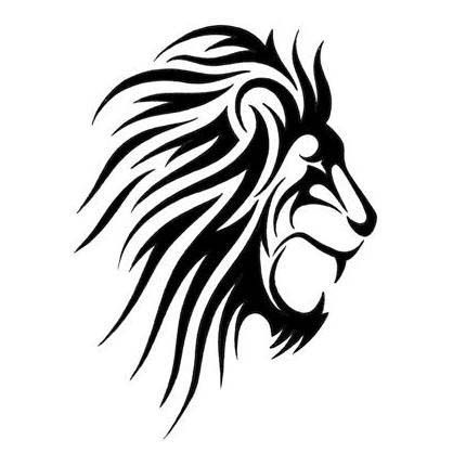 418x418 Best Lion Head Tattoos Ideas Lion Drawing, Lion