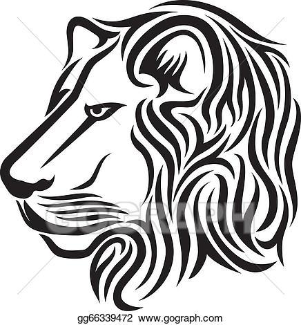 436x470 Lion Head Tattoo Clip Art