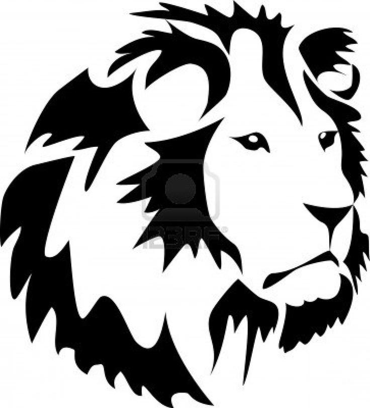 736x811 silhouette clip art lions Silhouette Clip art