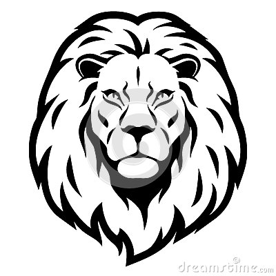 400x400 Lion Head