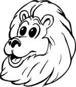 150x170 Clip Art Of Lion Head U11773017
