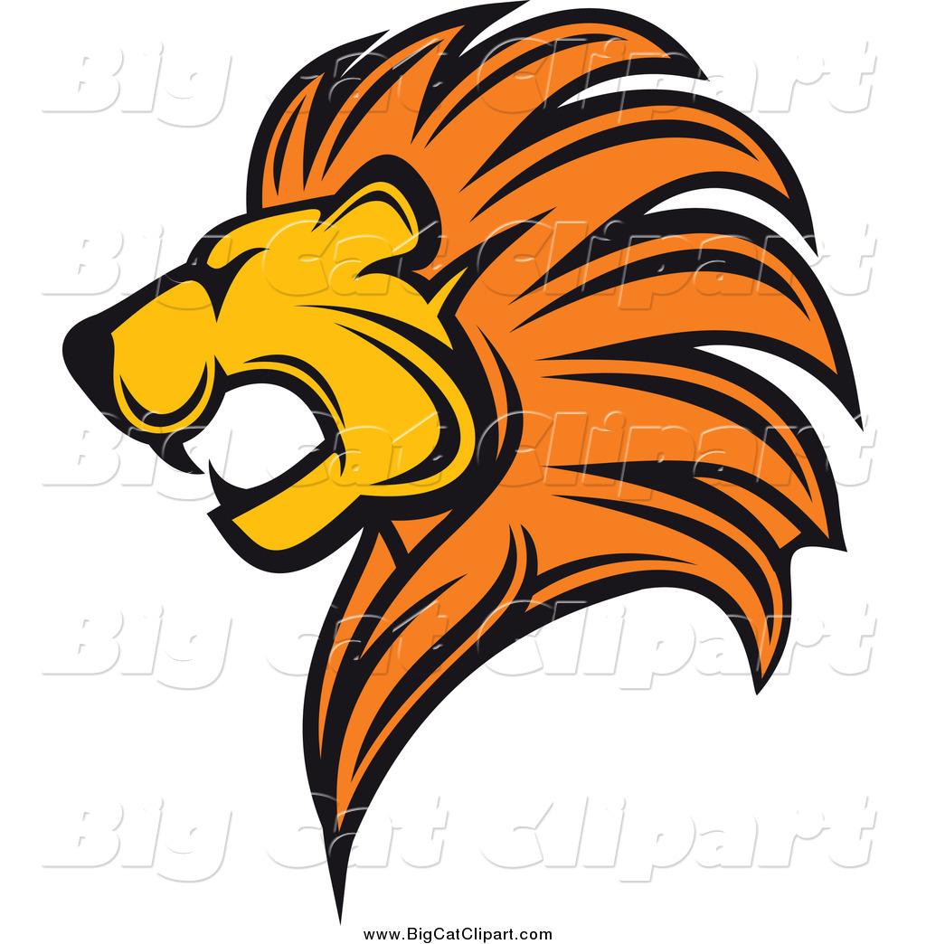 1024x1044 Lion's Head Clipart