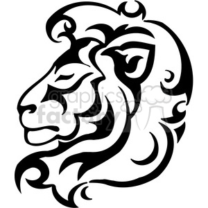 300x300 Royalty Free Lion Logo Design 385412 Vector Clip Art Image