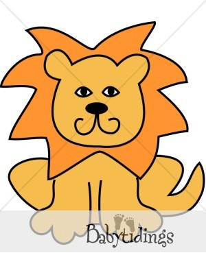 300x388 Simple Clipart Lion