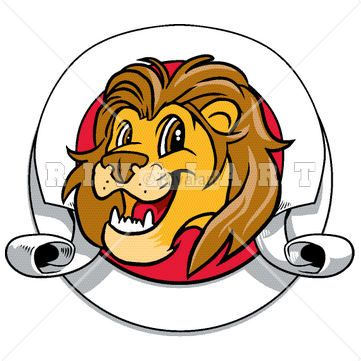 361x361 53 best Lion Clip Art images Clip art, Baseball and
