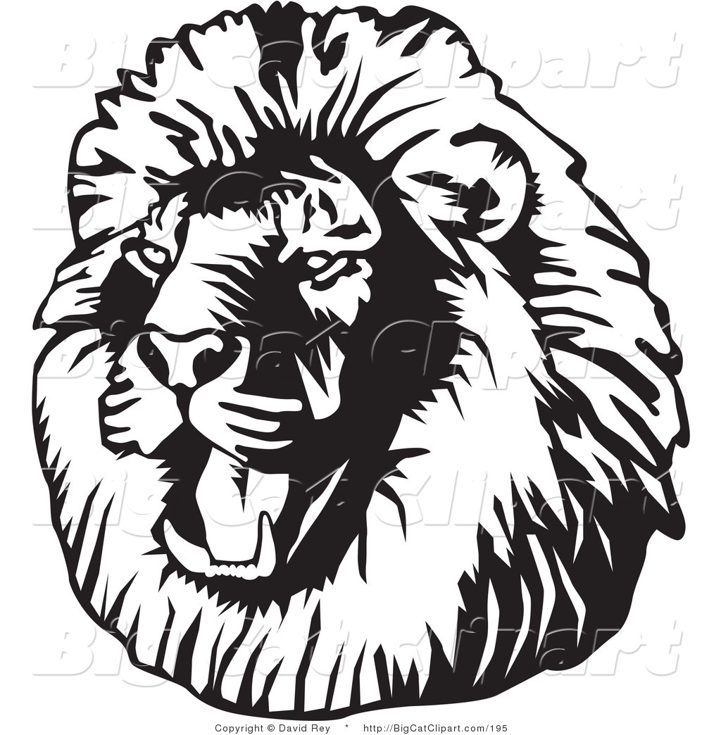 1024x1044 Lion Head Facing To The Right Clipart Panda