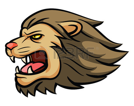 450x356 Lion Head Illustration Design Royalty Free Cliparts, Vectors,