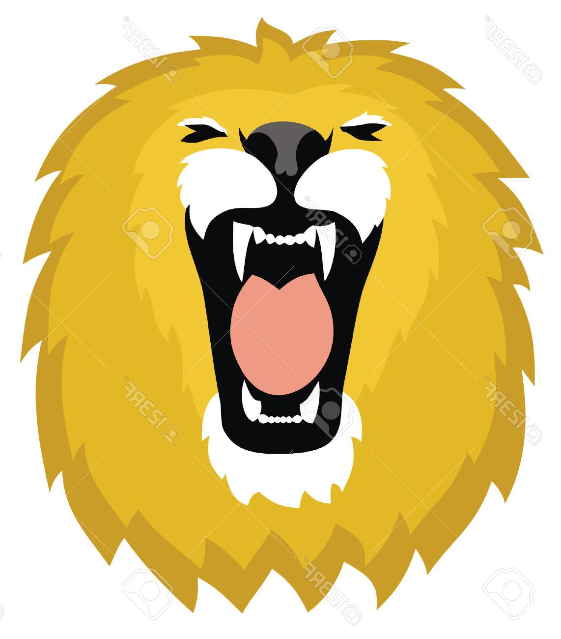 1142x1300 Top Abstract Vector Illustration Of Lion Head Stock Roar Design