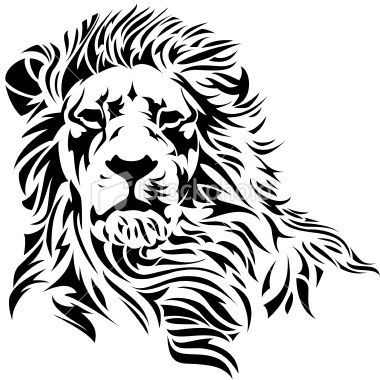 380x380 Lion, Head Amp Silhouette Vector Images (Over 290)