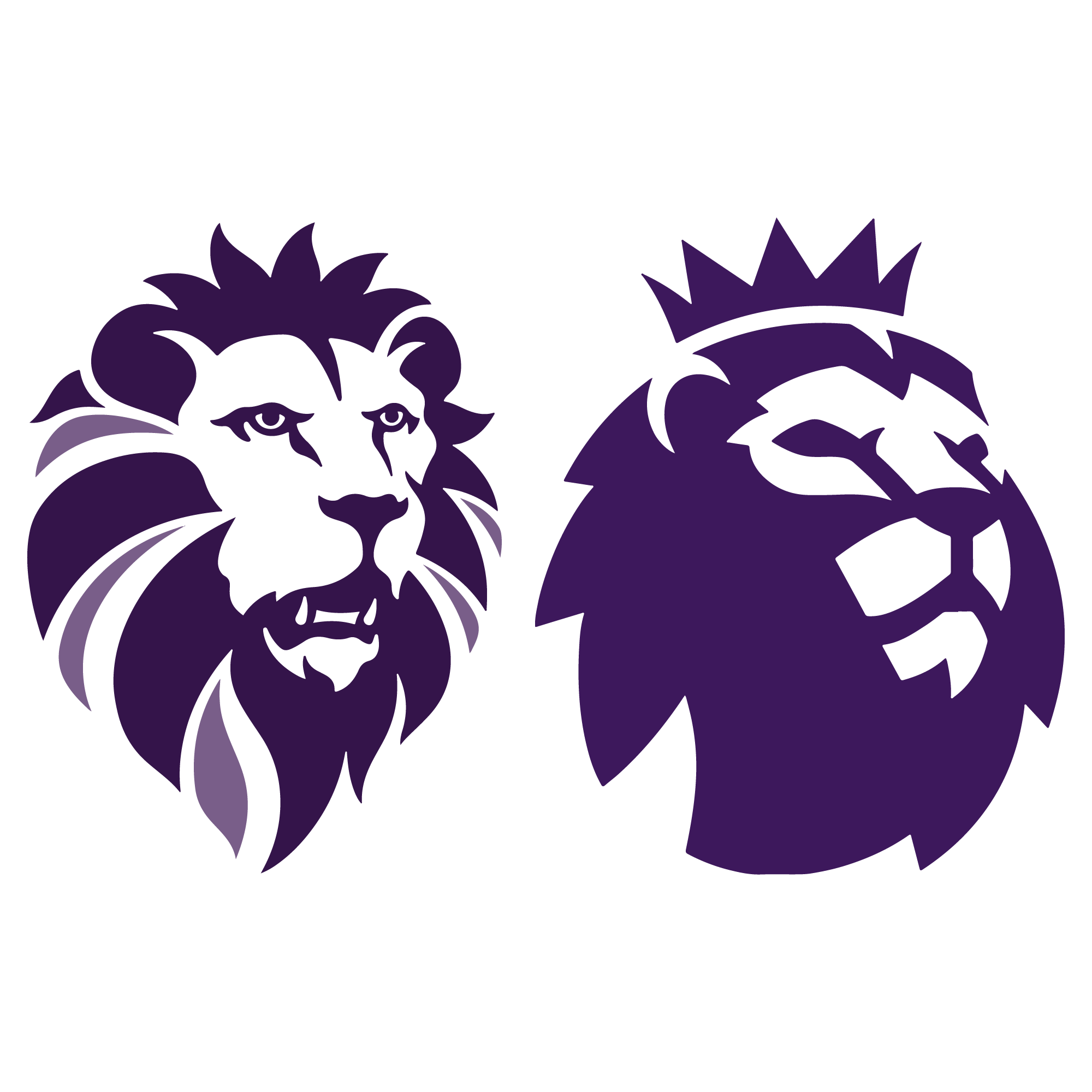 2000x2000 Ukip New Logo Premier League Lions Head Vector Logo
