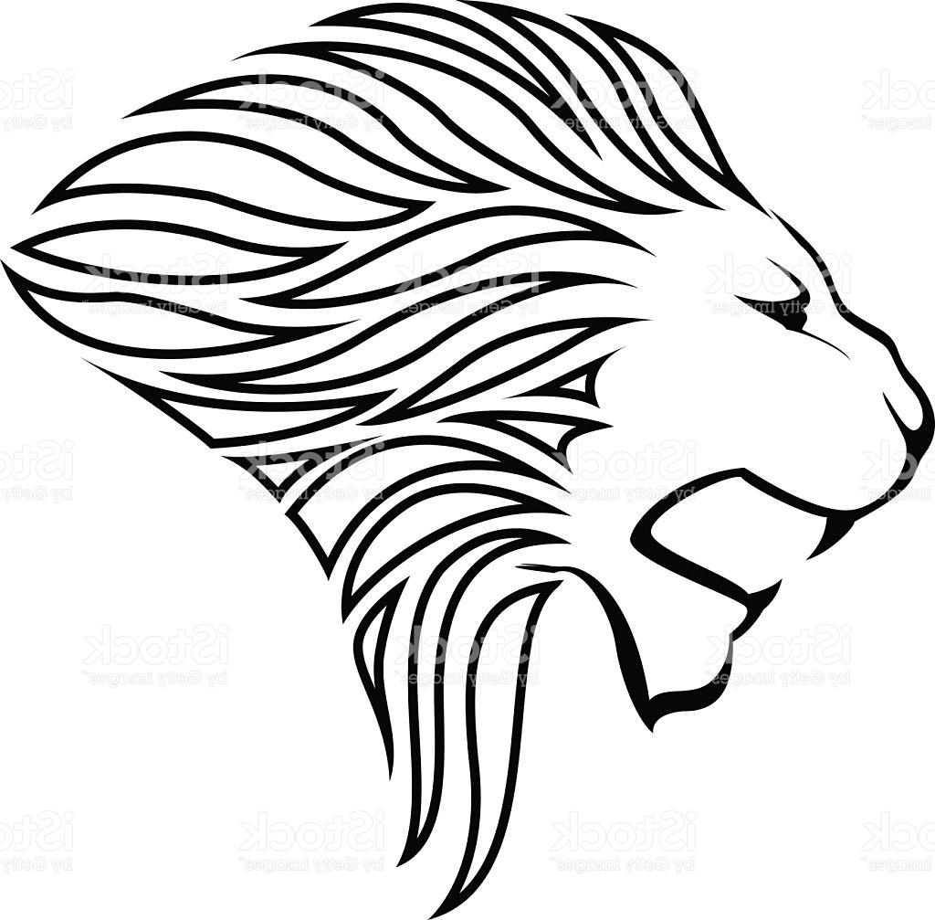 1024x1007 Best Hd Lion Head Silhouette Vector Library