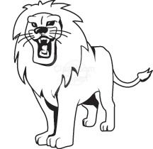 Lion Images Black And White | Free download best Lion ...