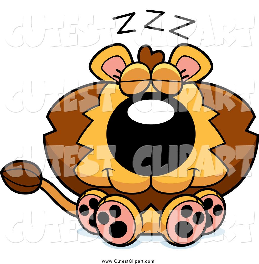 1024x1044 Cartoon Vector Clip Art Of A Cute Sleeping Lion By Cory Thoman