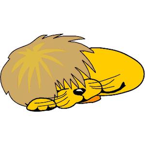 300x300 Sleepy Lion Clipart, Explore Pictures