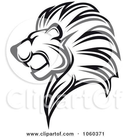 450x470 Black Lion Logo Clipart