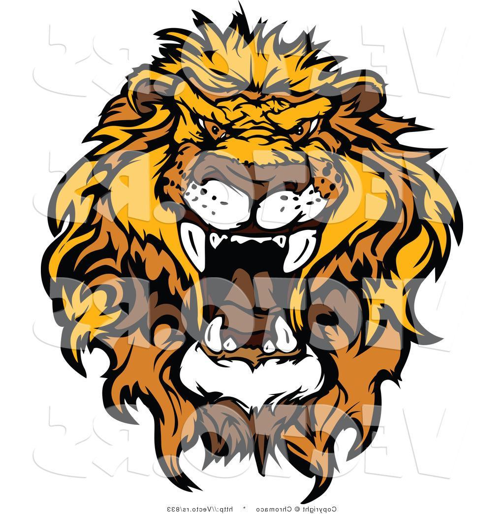 1024x1044 Hd Clipart Lion Roaring Design