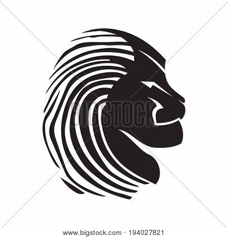 450x470 Lion Head Vector Images, Illustrations, Vectors