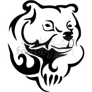 300x300 Royalty Free Bear Logo Design 385461 Vector Clip Art Image