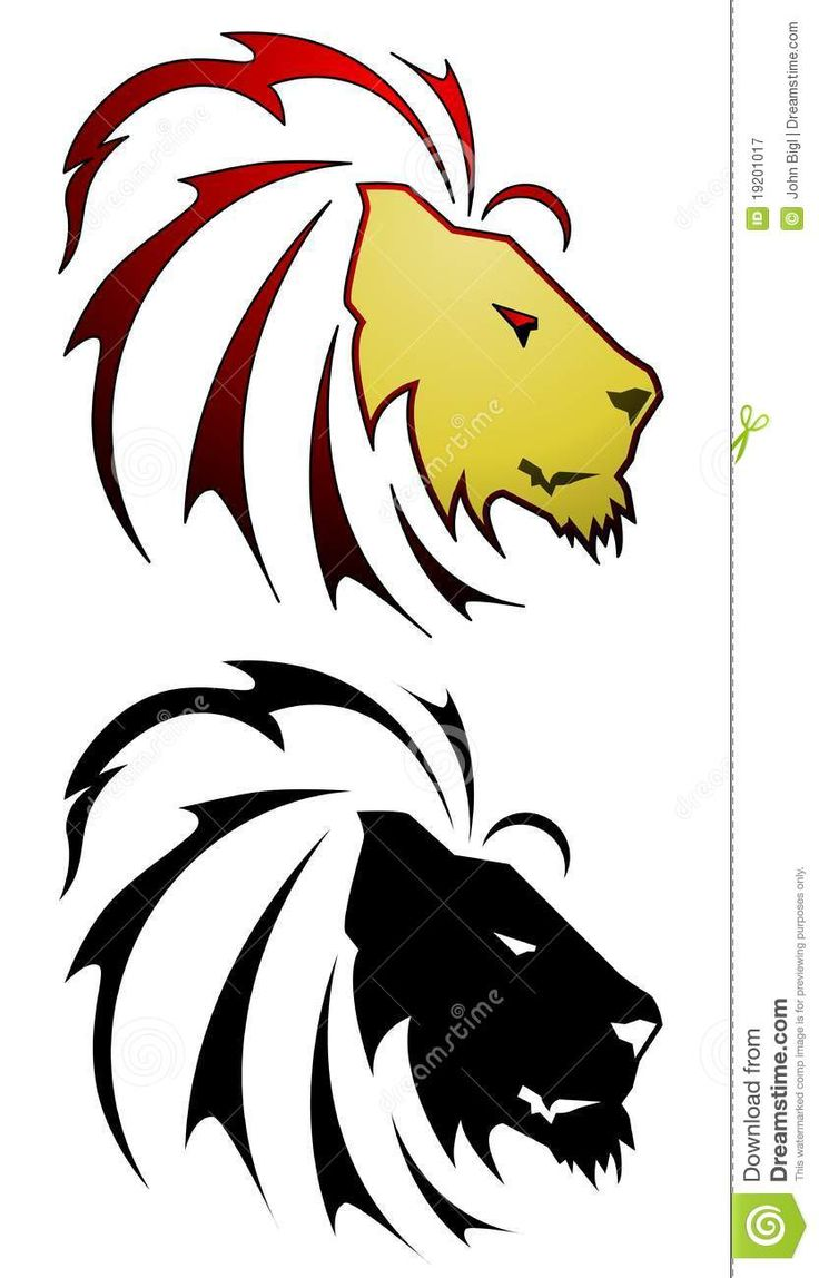 736x1148 32 Best Stylized Lion Tattoo Images Design Tattoos
