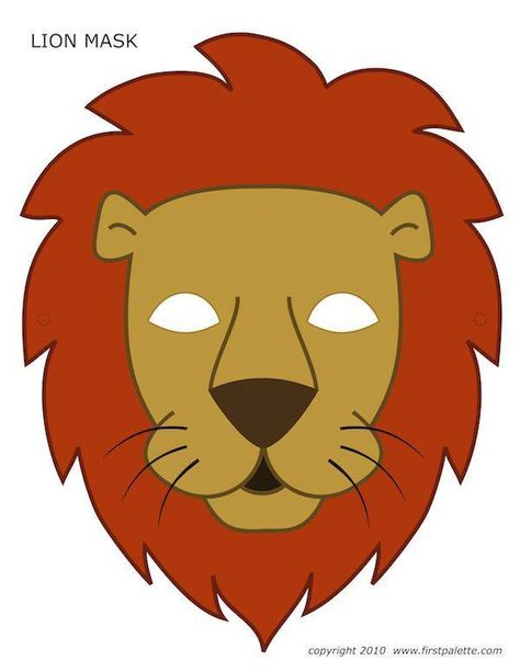 Lion Mask Clipart
