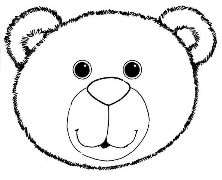 735x595 Best Bear Mask Ideas Polar Bear Crafts, Polar