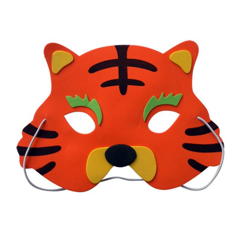 800x800 New Funny Assorted Eva Foam Animal Mask Kids Birthday Party Favors