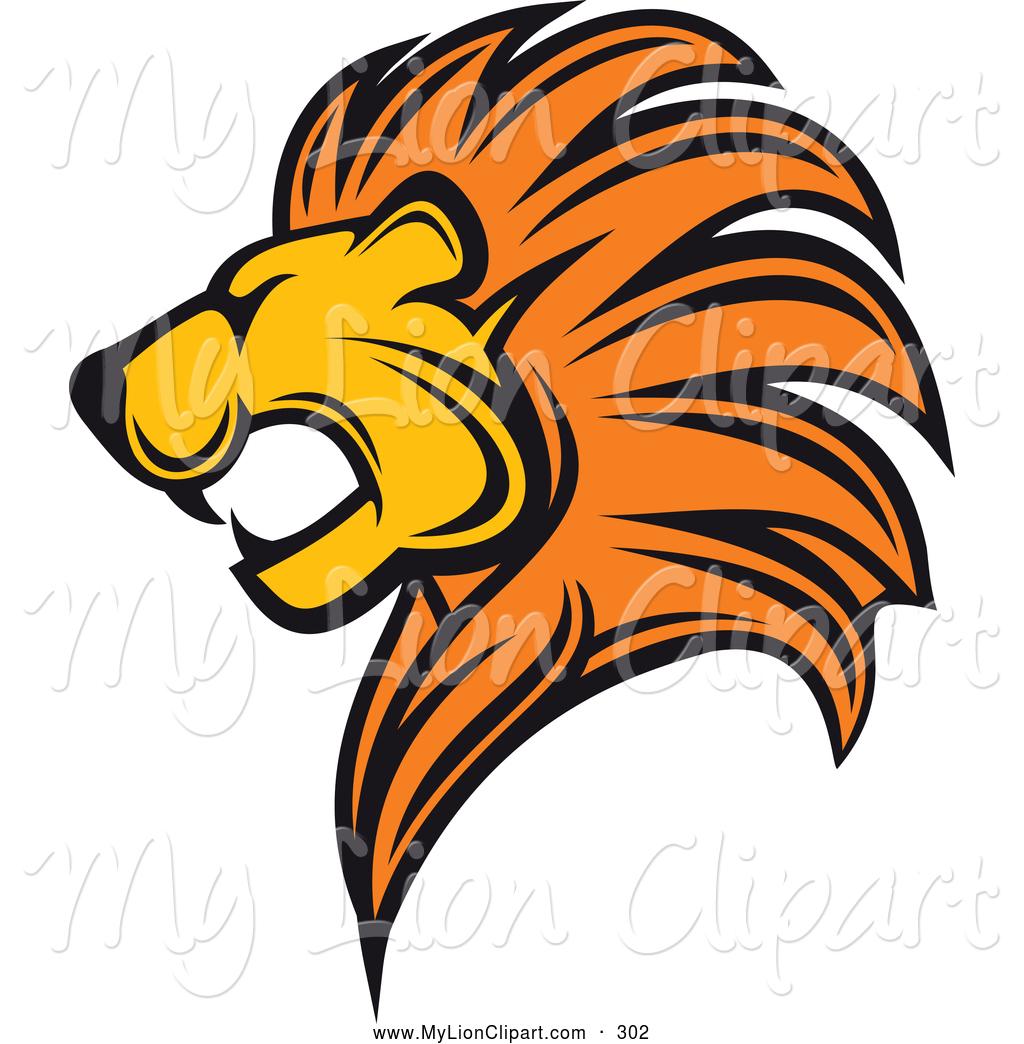 1024x1044 Roaring Lion Head Clip Art Clipart Panda