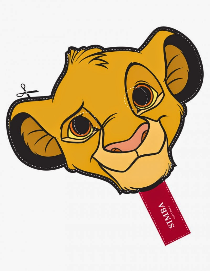 800x1034 The Lion King Free Printable Masks. Is It For Parties Is It