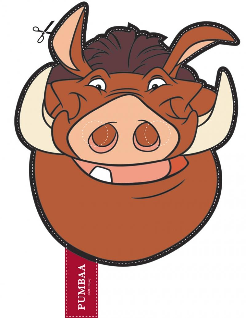 800x1034 Warthog Clipart Timon And Pumbaa