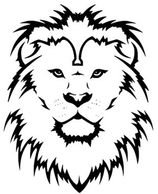 310x380 Lion Tattoo Clip Art